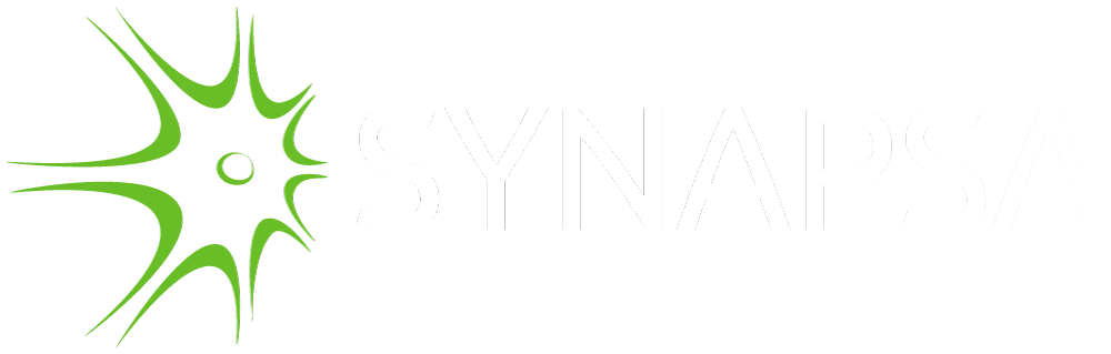 Synapsa Networks logo invert