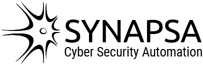 Synapsa logo subtitle black