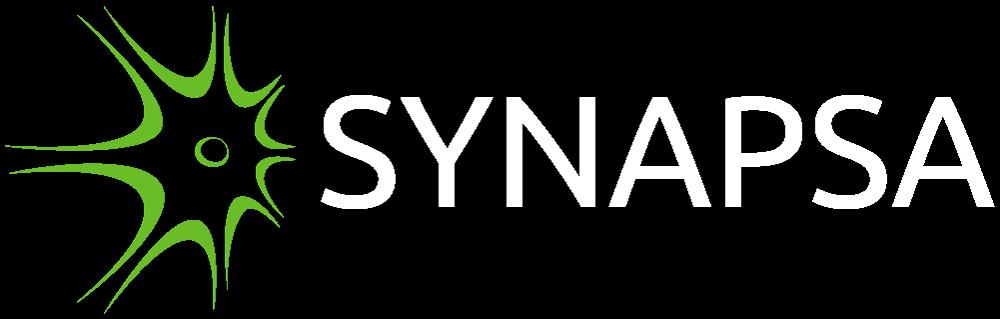 Synapsa logo invert