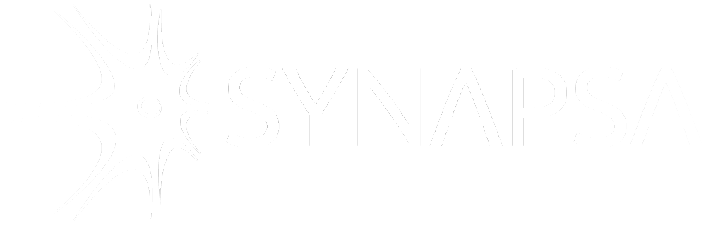 Synapsa logo white